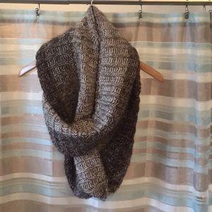 Sweater infinity scarf.